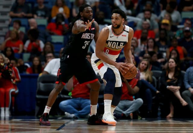 Jahlil Okafor of the New Orleans Pelicans