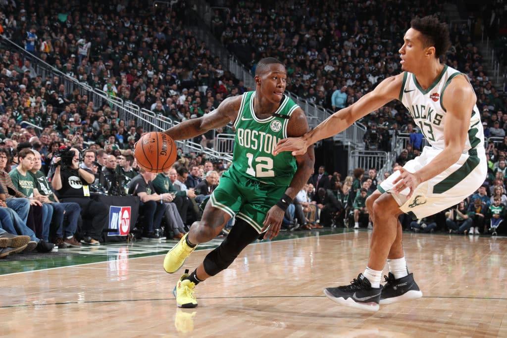 Terry Rozier of the Boston Celtics