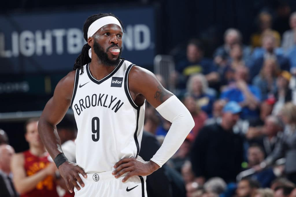 DeMarre Carroll of the Brooklyn Nets