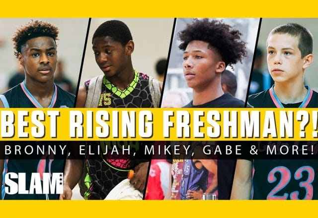 mike williams bronny james rising freshmen