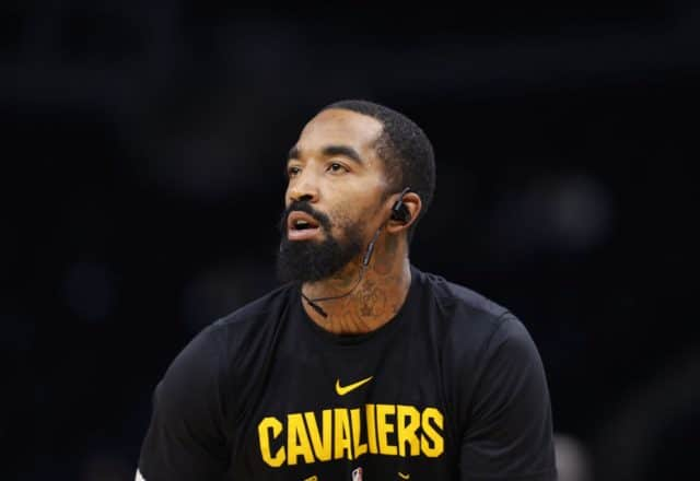 J.R. Smith of the Cleveland Cavaliers