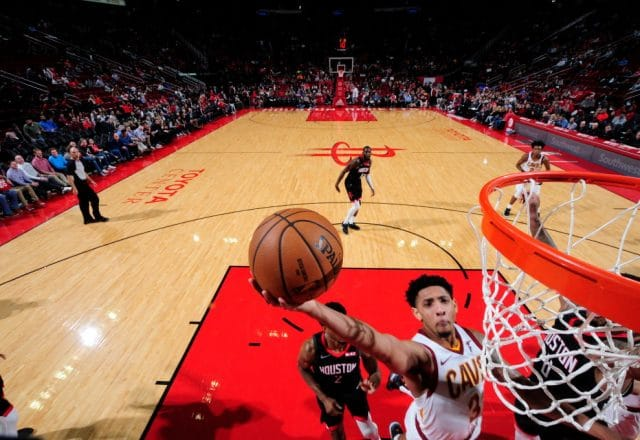 Cameron Payne of the Cleveland Cavaliers