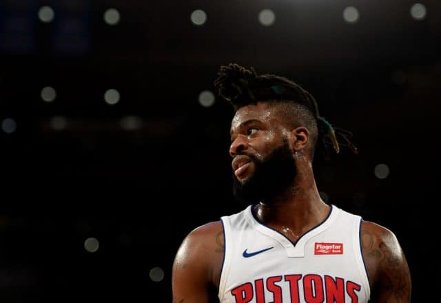 Reggie Bullock of the Detroit Pistons