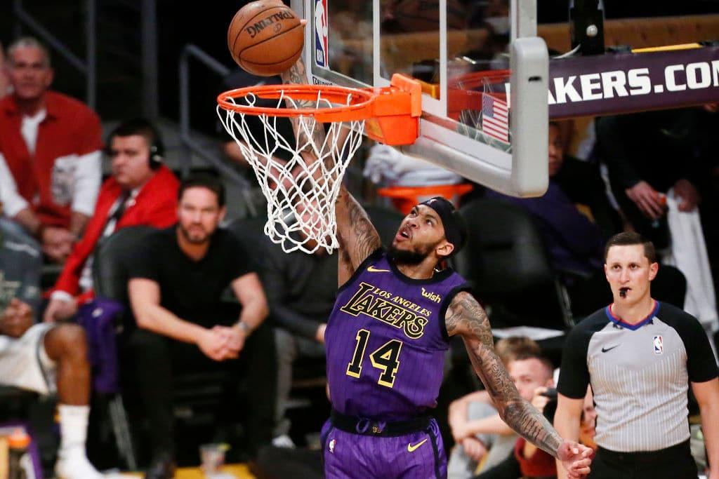 Brandon Ingram of the Los Angeles Lakers