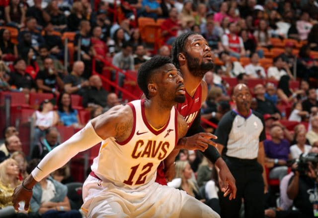 David Nwaba of the Cleveland Cavaliers