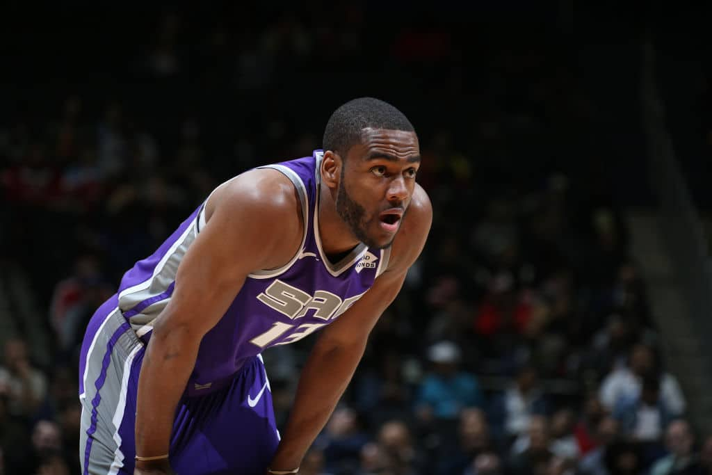 Alec Burks of the Sacramento Kings