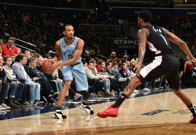 Avery Bradley of the Memphis Grizzlies