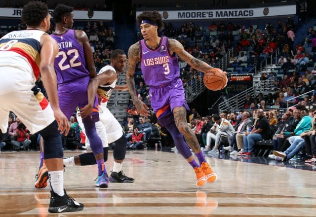 Kelly Oubre Jr. of the Phoenix Suns