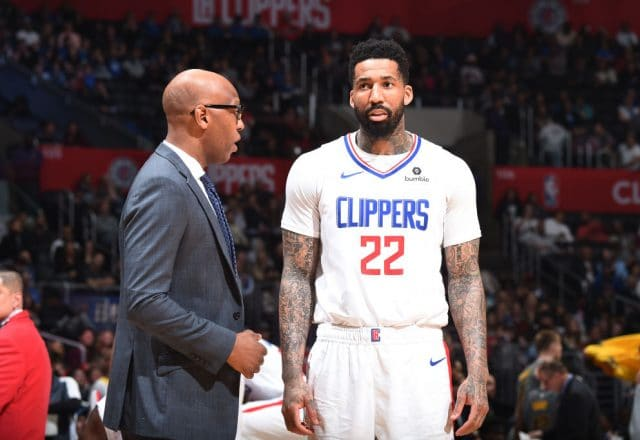 Wilson Chandler of the Los Angeles Clippers