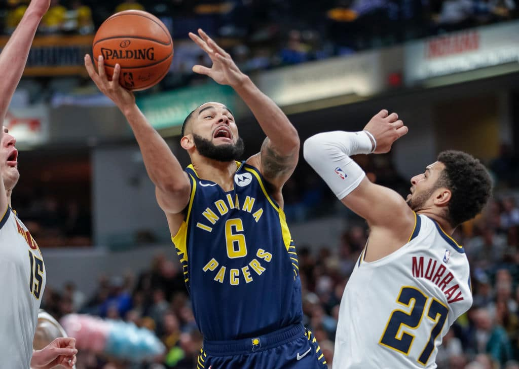 Cory Joseph of the Indiana Pacers