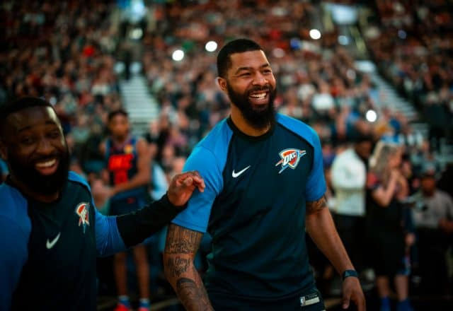 Markieff Morris of the Oklahoma City Thunder
