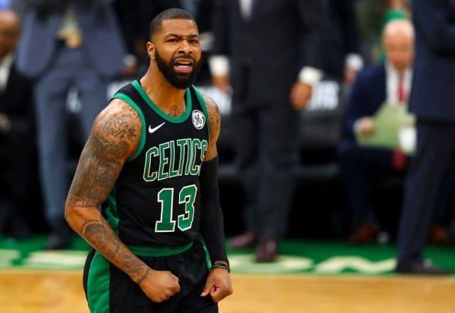 Marcus Morris of the Boston Celtics