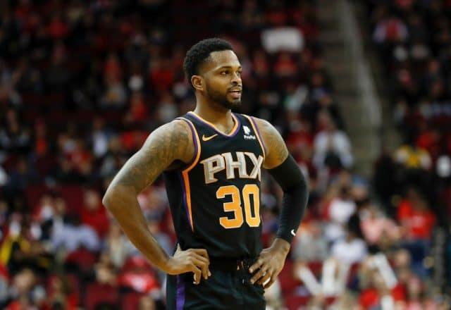 Troy Daniels of the Phoenix Suns
