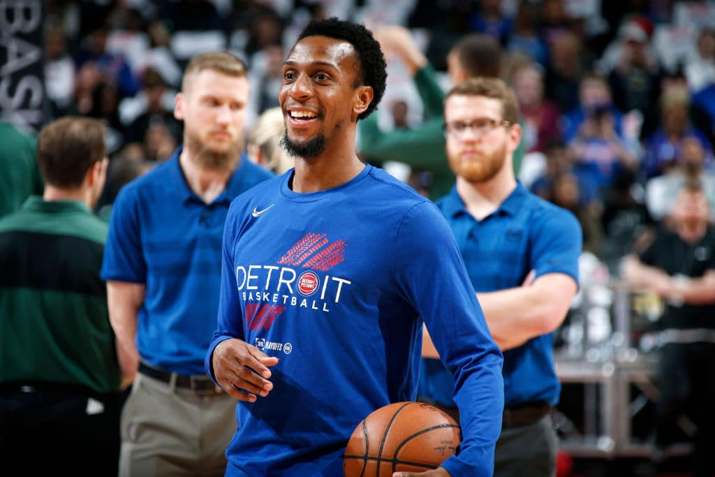 Ish Smith of the Detroit Pistons