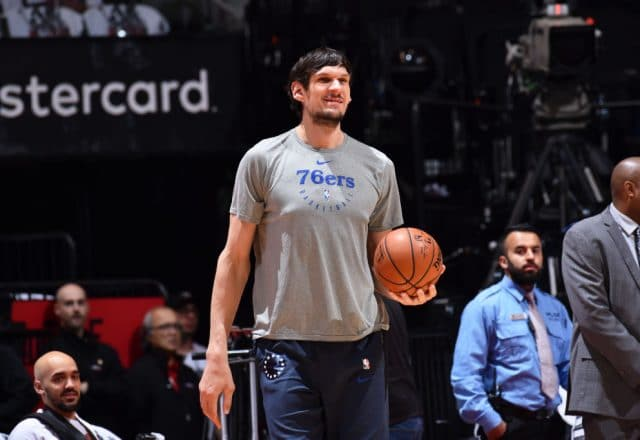 Boban Marjanovic of the Philadelphia 76ers