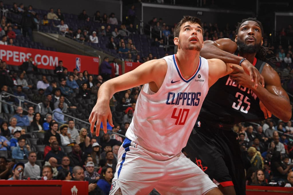 Ivica Zubac of the Los Angeles Clippers