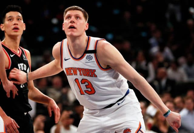Henry Ellenson of the New York Knicks