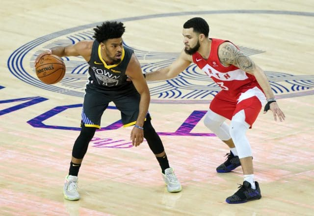 Quinn Cook of the Los Angeles Lakers