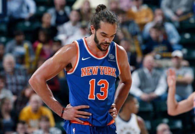 Joakim Noah of the New York Knicks