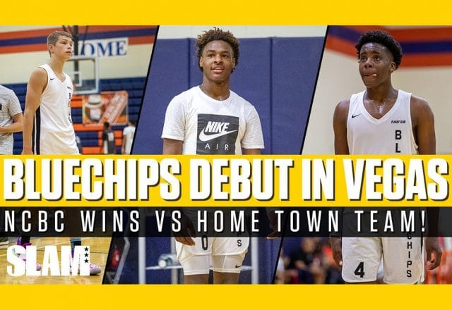 blue chips vegas debut