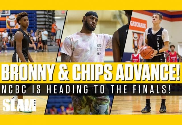 bronny blue chips semifinals