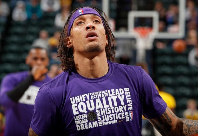 Michael Beasley of the Los Angeles Lakers