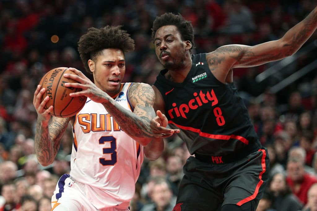 Kelly Oubre of the Phoenix Suns