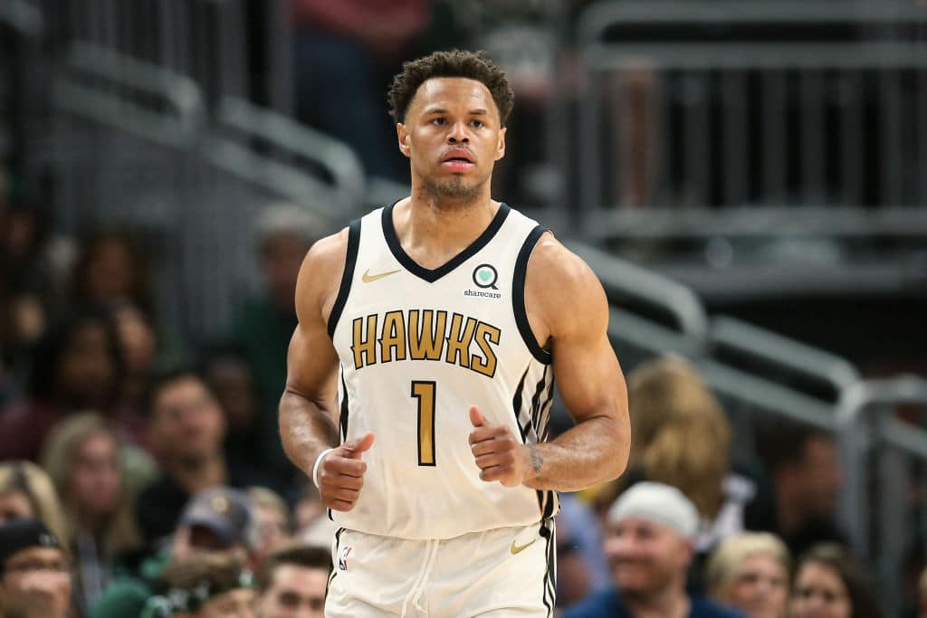 Justin Anderson of the Atlanta Hawks