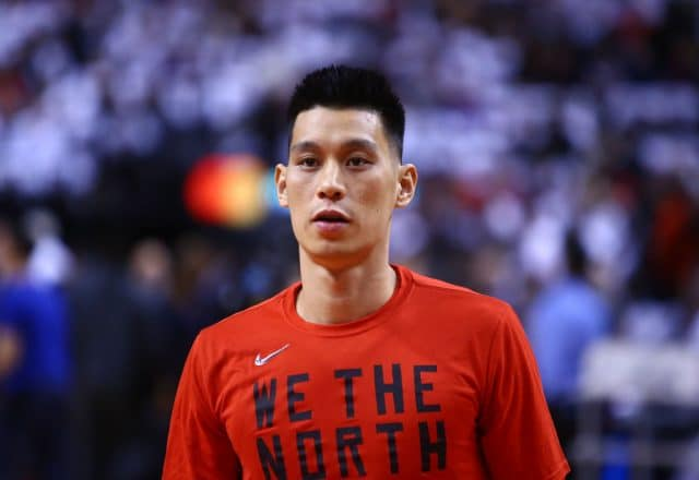 Jeremy Lin of the Toronto Raptors