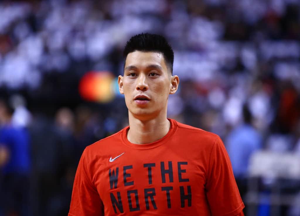Jeremy Lin of the Toronto Raptors