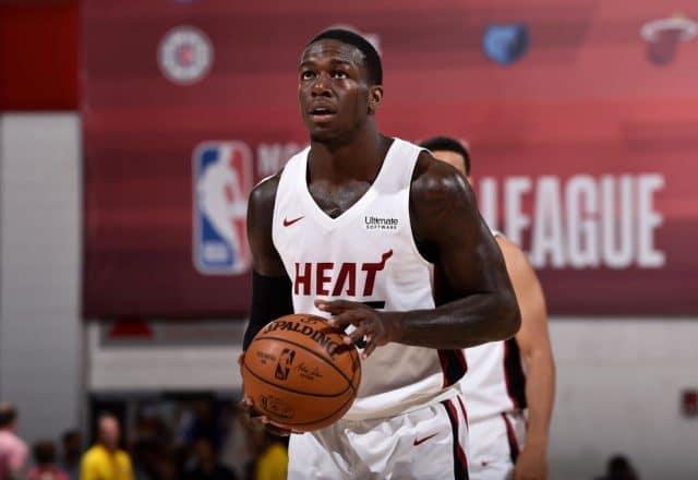 Kendrick Nunn of the Miami Heat