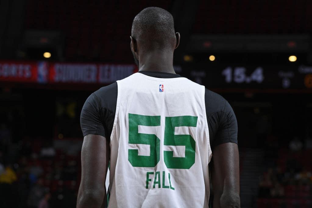 Tacko Fall of the Boston Celtics