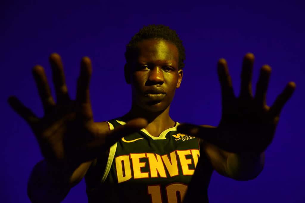 Bol Bol of the Denver Nuggets