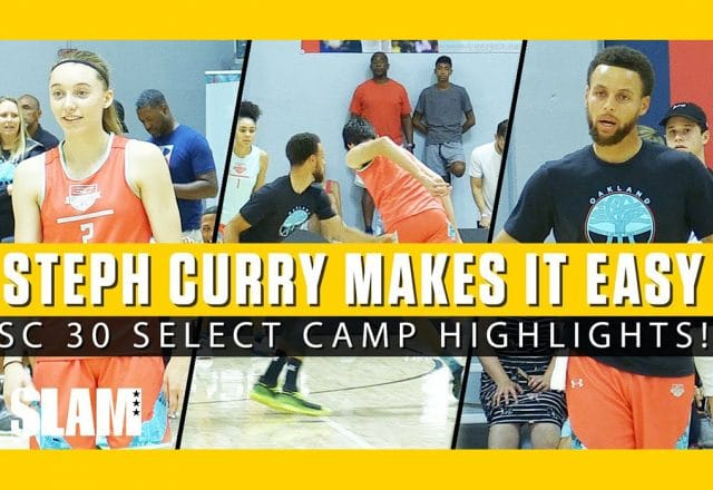 chet holmgren stephen curry camp
