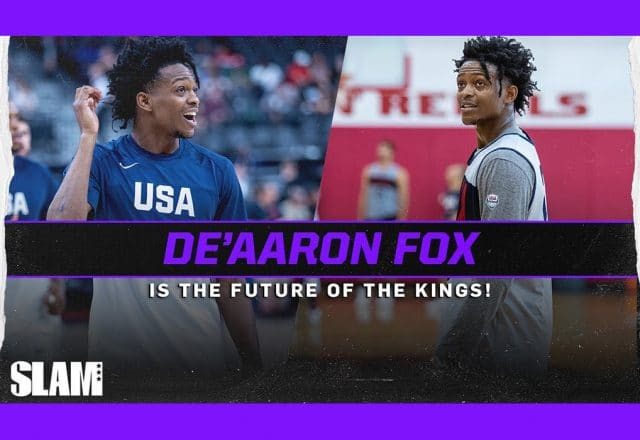 deaaron fox usa basketball
