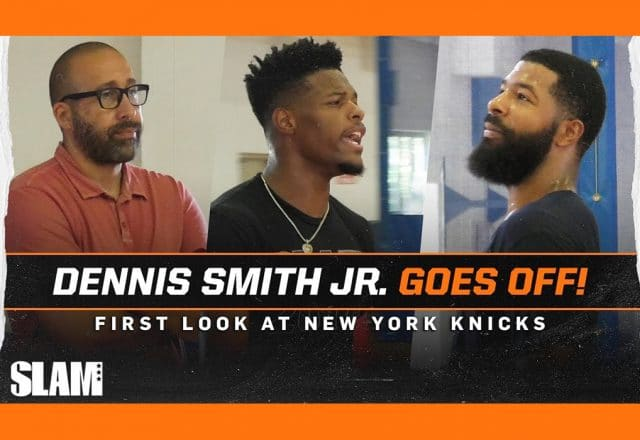 dennis smith jr remy runs knicks