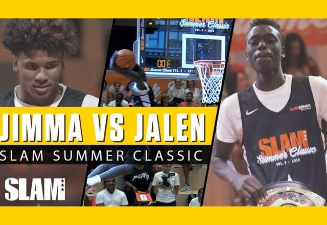 jimma gatwech jalen green dunk contest