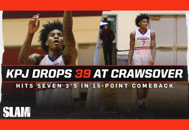 Jamal Crawford & His 19-Year-Old Son Eric Face off in Pro ...