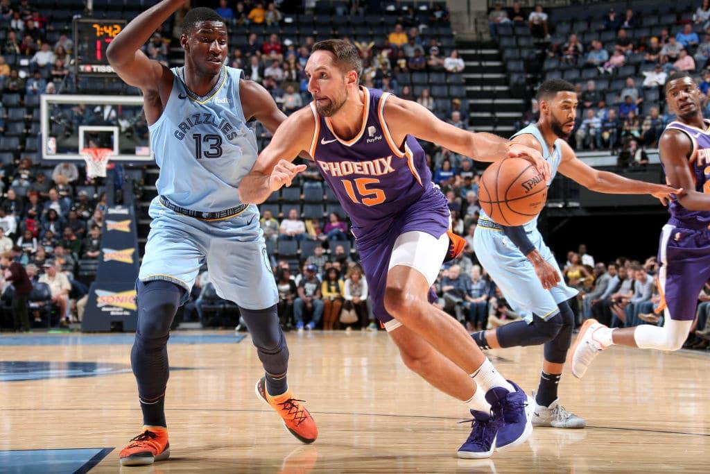 Ryan Anderson of the Phoenix Suns