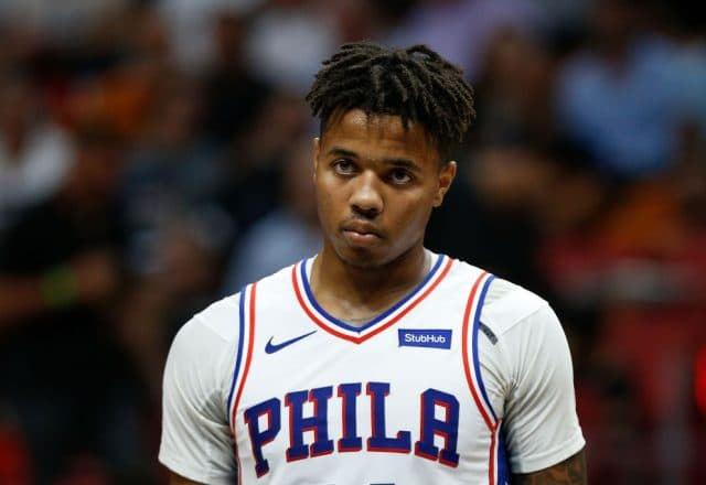 Markelle Fultz of the Philadelphia 76ers