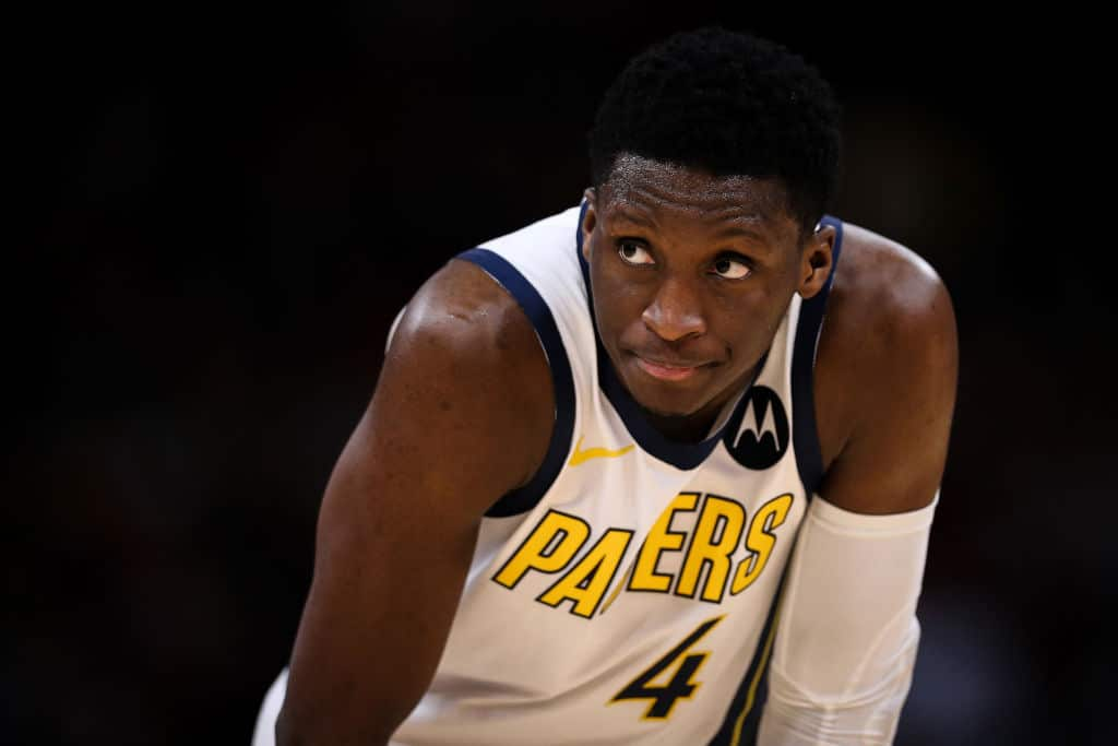 Victor Oladipo of the Indiana Pacers