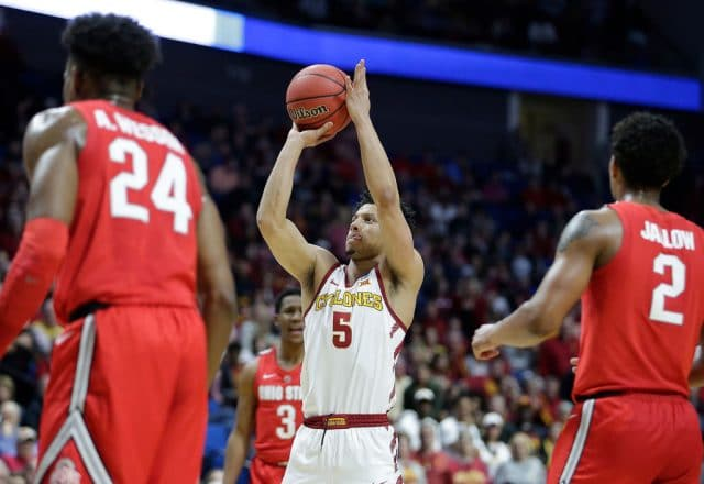 Lindell Wigginton of the Iowa State Cyclones