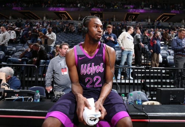Andrew Wiggins of the Minnesota Timberwolves