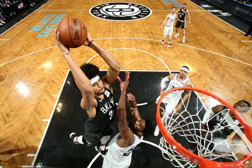 Jarrett Allen of the Brooklyn Nets