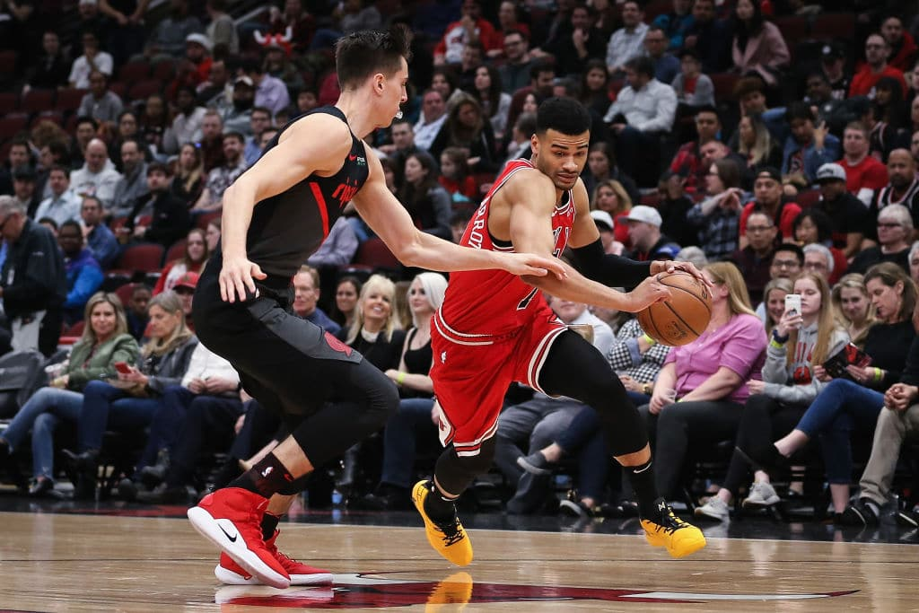 Timothe Luwawu-Cabarrot of the Chicago Bulls
