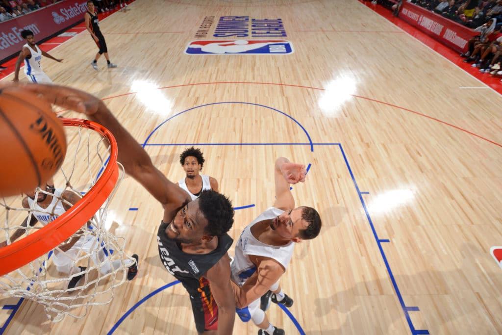 Yante Maten of the Miami Heat