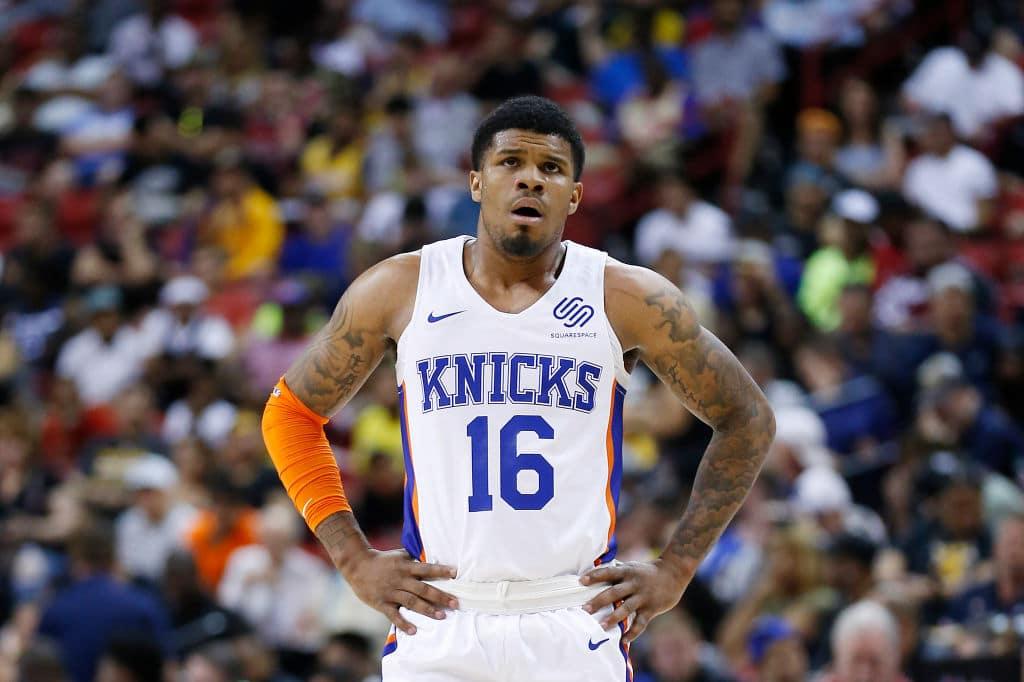 Lamar Peters of the New York Knicks