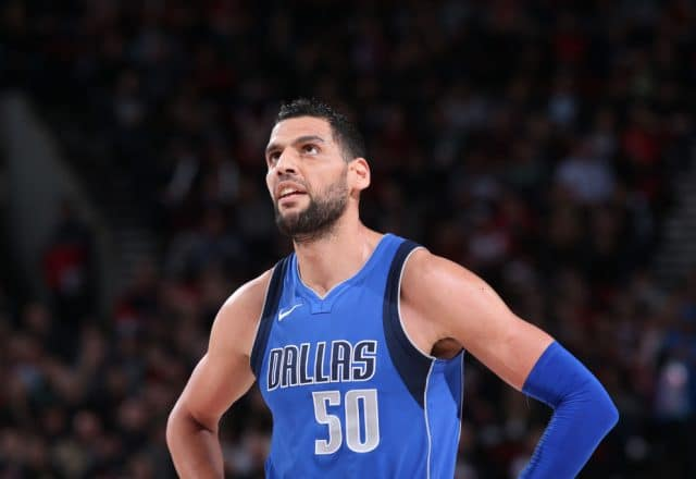 Salah Mejri of the Dallas Mavericks