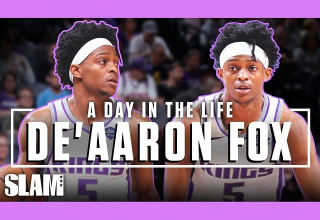 de'aaron fox day in the life