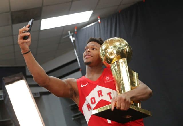Kyle Lowry of the Toronto Raptors
